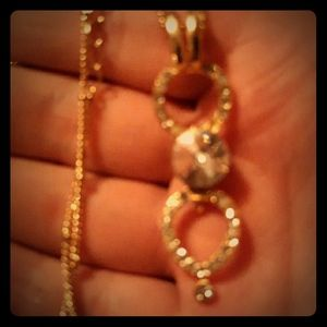 Gold Necklace homemade